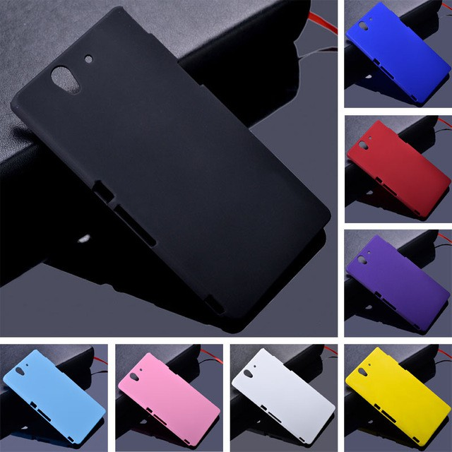 low priced d2f76 7d410 Sony Xperia z L36h c6603 c6602 case Ultra Thin Frosted Matte Hard PC Back  Cover