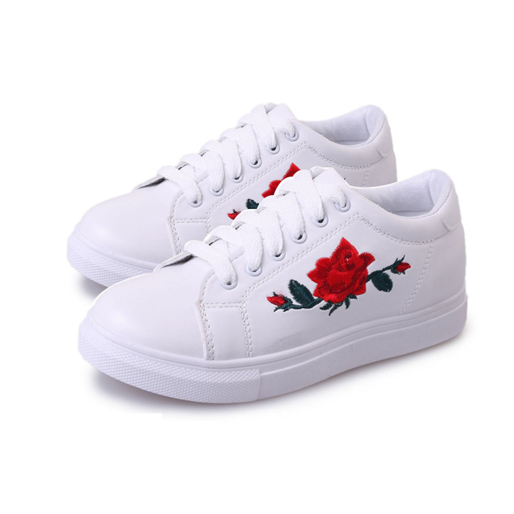 malaysia ready stock ship 1 day rose sneakers casual women flat