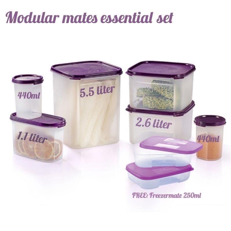 Tupperware Modular Mate Essential set