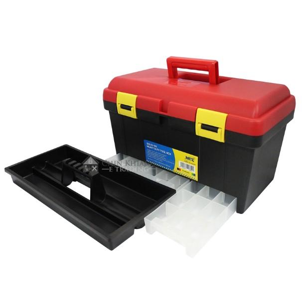 Nietz 505-23-185 Multipurpose Power Tool Storage Box Organizer Retractable Drawers
