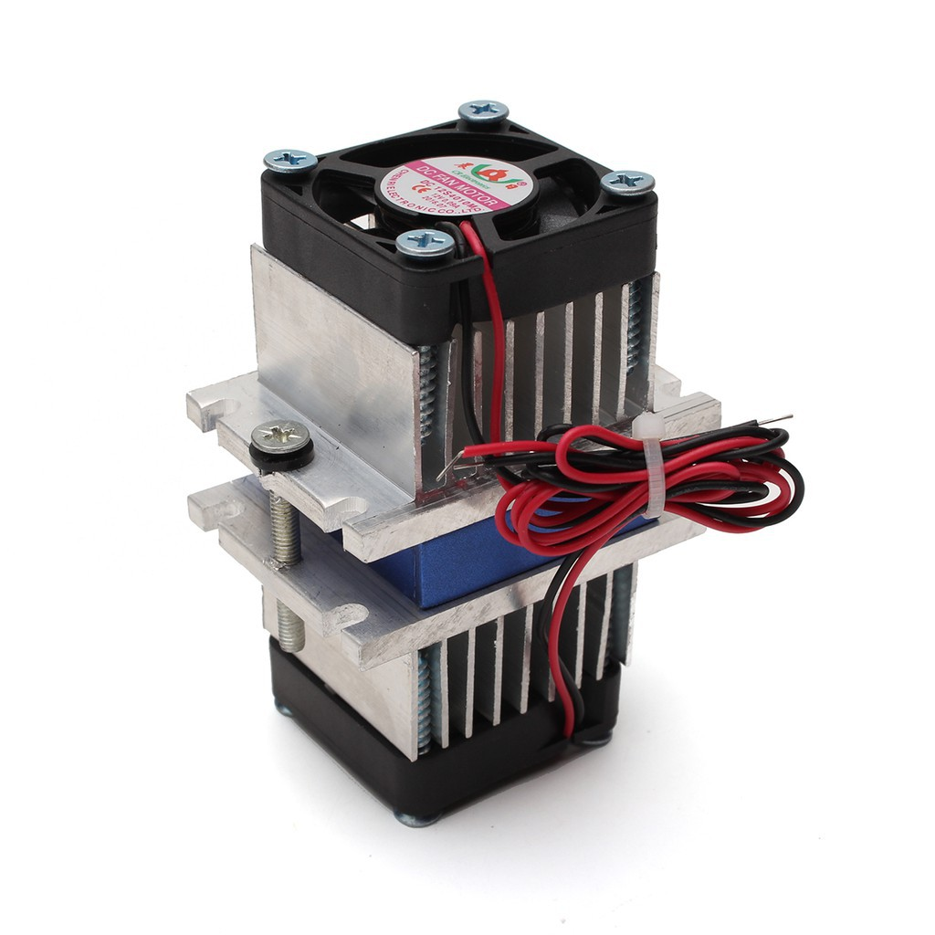 ❤❤DIY kits Thermoelectric Peltier Refrigeration Cooling System + fan