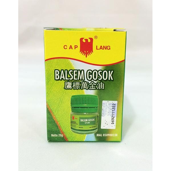 Balsem Gosok (Cap Lang)