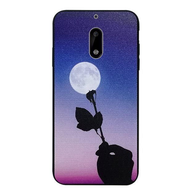Nokia 2 3 5 6 6.1 8 Sirocco 2018 Flower Silicon Case