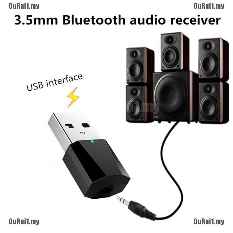 Bluetooth 4.2 Converter Stereo Audio Music TV MP4 Speaker Headphone 5V USB US