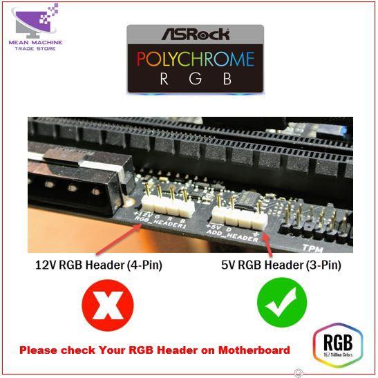 #Aigo DR12 Pro 3 in 1 Double Ring RGB Fan + RGB Stripe (5V addressable RGB  Sync & Remote)#