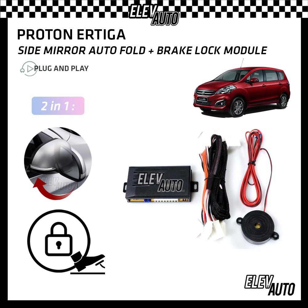 Proton Ertiga Side Mirror Auto Fold & Brake Lock Module with Buzzer (2 in 1)