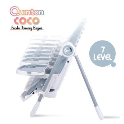 Quinton: Coco High Chair - GREY