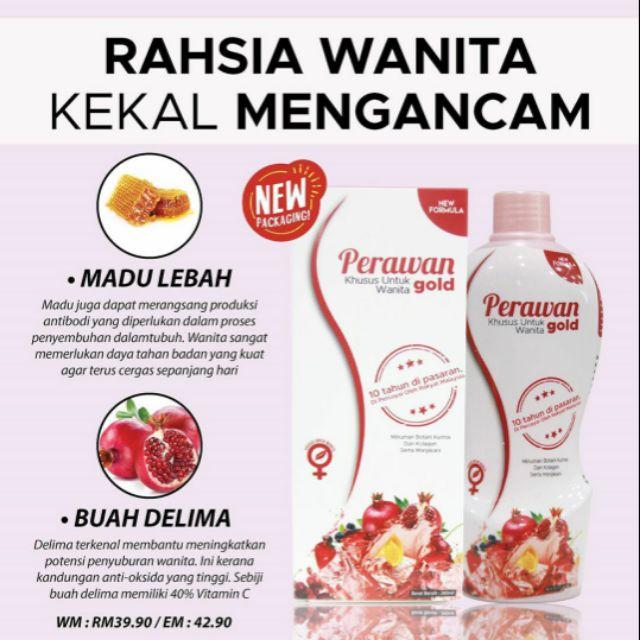 Jus Perawan Gold D Herbs Shopee Malaysia