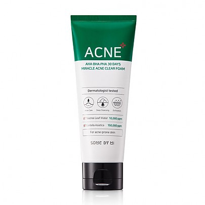 Some By Mi 30 Days Miracle Acne Clear Foam 100ml