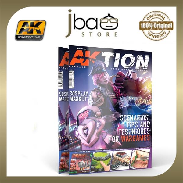 AK AKTION Nº1: THE WARGAME MAGAZINE BOOK Scenarios