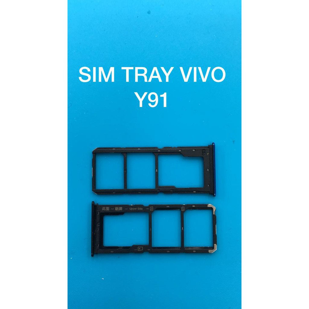 ORIGINAL Vivo Y91 Sim Tray slot replacement part