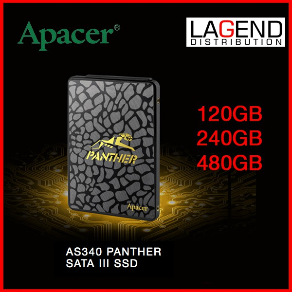 APACER 480GB / 240GB / 120GB AS340 2 5 INCH SSD 550MB/S SPEED  V400 A55  SU650 AS350 A400 T5