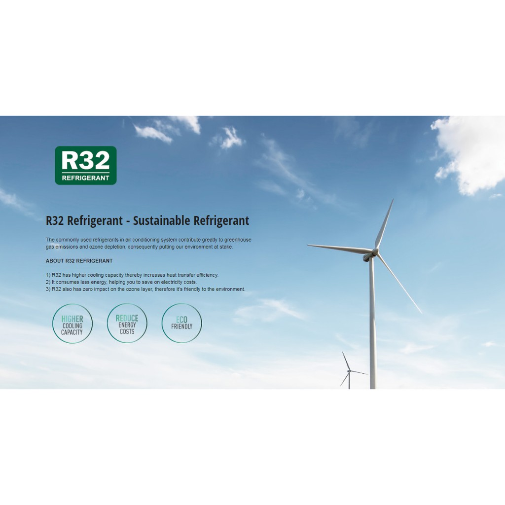 Panasonic (New 2020) 1.0hp Non-Inverter Air Cond R32 CS-PN9WKH-1 (Replacement Model CS-PN9VKH)