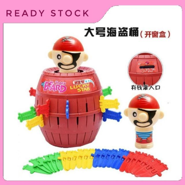 Pirates Lord Barrel Surprising Game Toys