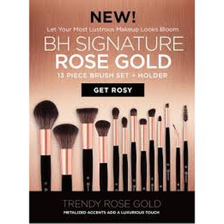 a17d368a166a6 ... BH Cosmetics Signature Rose Gold- 13 Piece Makeup Brush Set. like  86