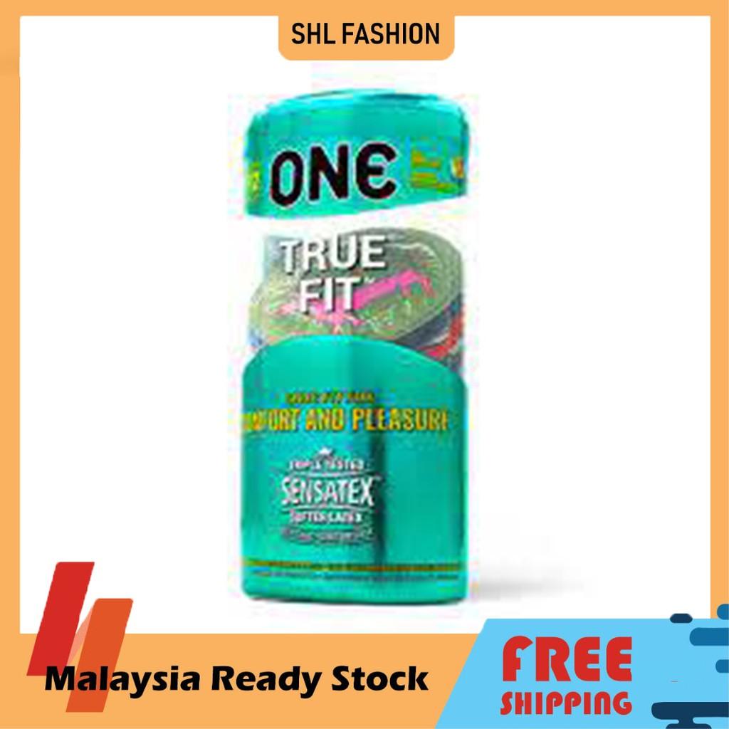 ONE Condoms True Fit 12pcs Kondom SHL Ready Stock 安全套 避孕套