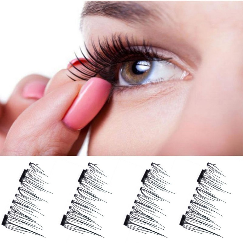 01bdd2b6ff0 ProductImage. ProductImage. 1 pair 3D Magnetic False Eyelashes Soft Makeup  Mink ...