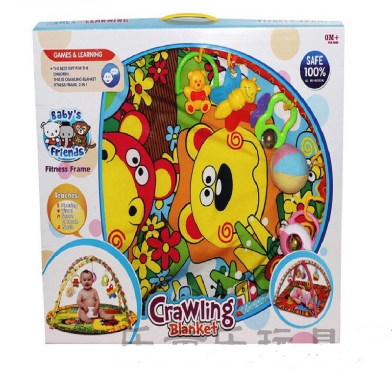Baby Friend Crawling Blanket Fitness Frame