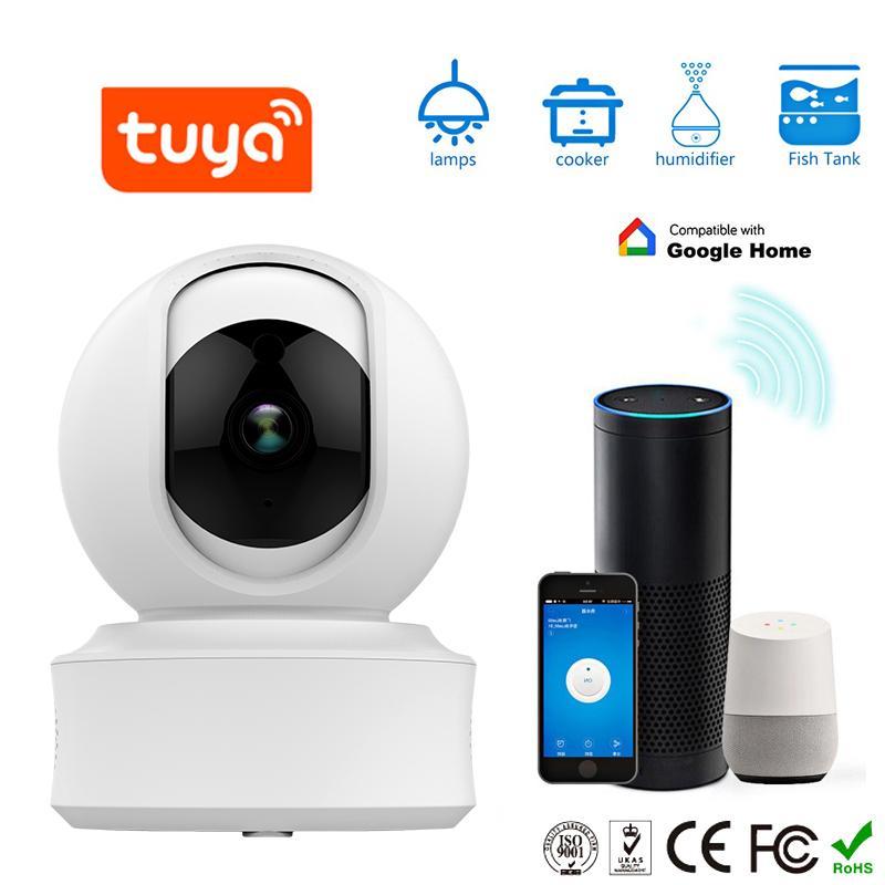 720P/1080P Wireless IP Camera Support Tuya Smart Life App
