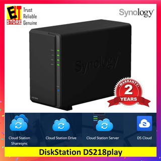 SYNOLOGY DISKSTATION DS718+ 2GB DDR3L HIGH PERFORMANCE NAS