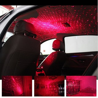 New Usb Red Led Car Interior Lighting Kit Atmosphere Light Neon Ambient Lamp