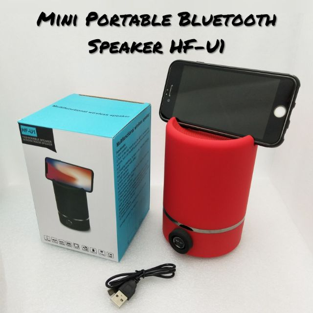 Portable Audio & Headphones Audio Docks & Mini Speakers Portable Rechargeable Bluetooth Speaker Spash Proof Bass Stereo New Slc-063