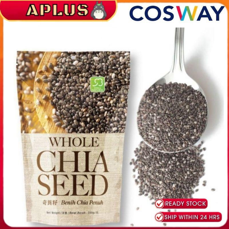 COSWAY Mildura Natural Whole Chia Seed (500g)