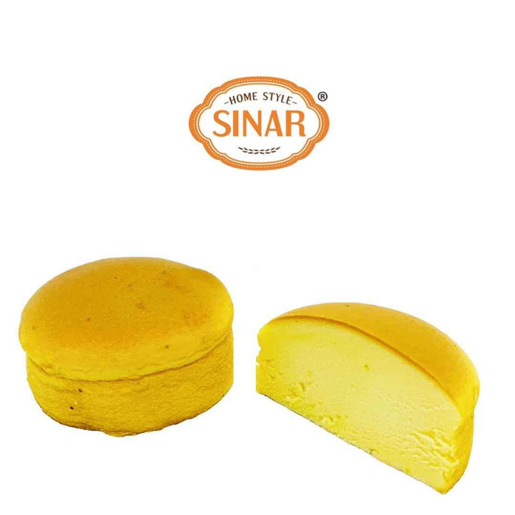 Sinar Kek Steam Lemon Dan Chesee Cake Boleh Dijadikan Gudis