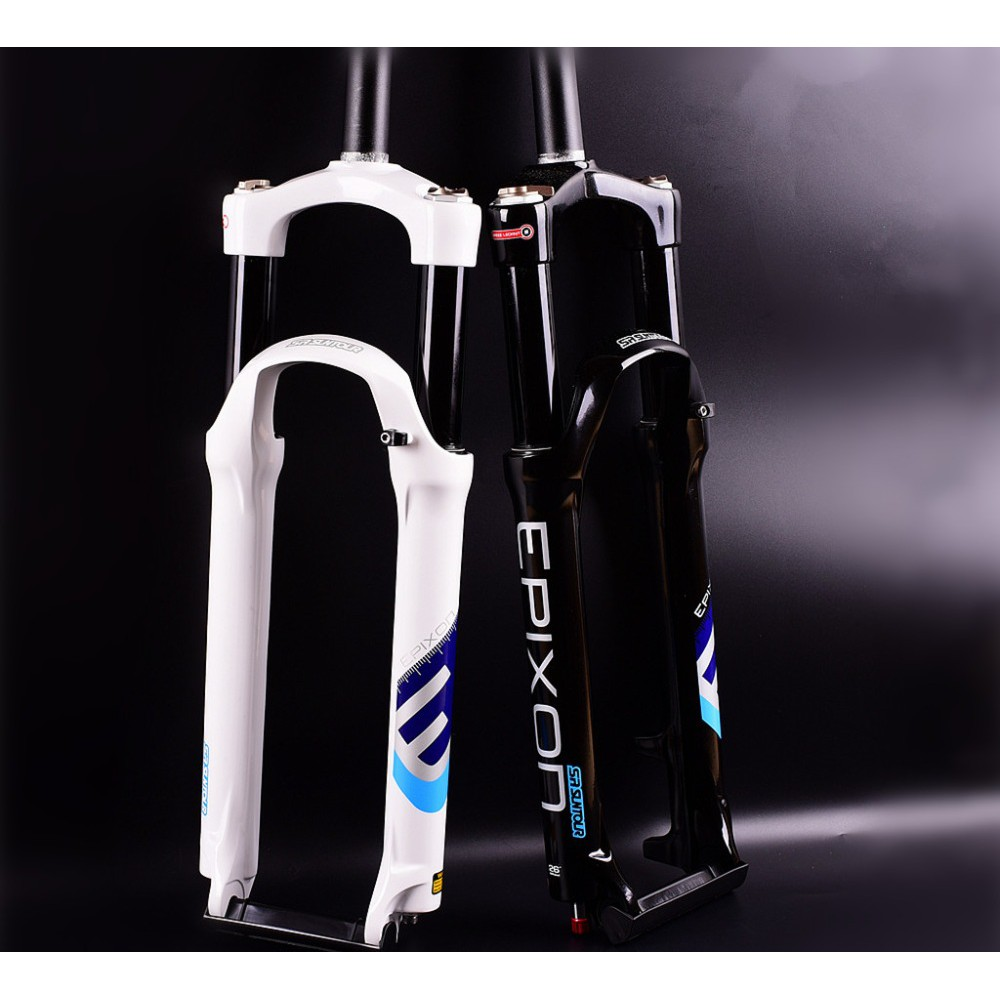 "ALL NEW SR Suntour Epixon XC  MTB Fork 26/"" 120mm Remote Air QR 9mm Black"