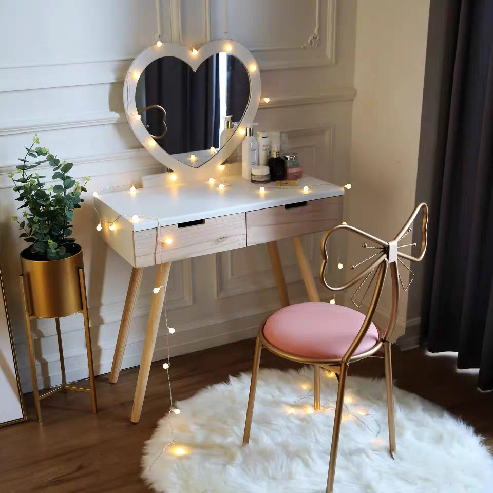 Nordic Makeup Chair Dining Chair Shopee Malaysia