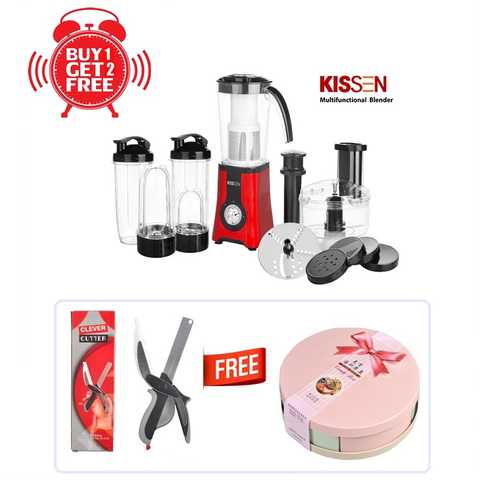 MALAYSIA: 7PCS/ SET Blender 350W with FREE GIFT 🤩Food Processor