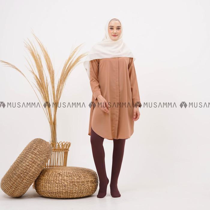 Women S Fashion Legging Wudhu Dark Brown S M Women S Fashion Shopee Malaysia