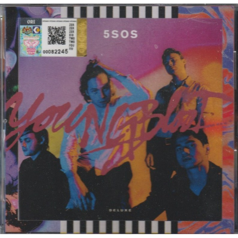 5 Seconds Of Summer Young blood Deluxe cd