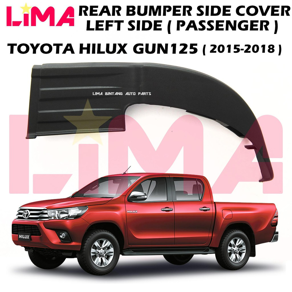 Hi-Lux Pick-Up 2011-2015 Chrome Cap Right Side