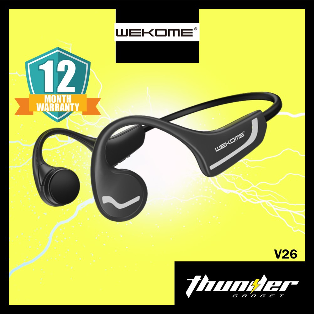Wekome Bluetooth Headset V26 Bone Conduction Sports Wireless Headphones Normal & Outdoor IPX4