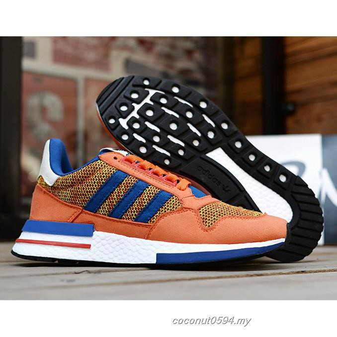 "uk availability dc6cd 27b97 Adidas Dragon Ball ZX 500 RM""Son Goku""men's and women's breathable running  shoes"