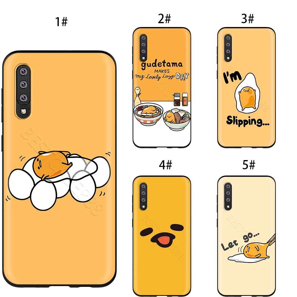 Cute Lovely Gudetama Lazy Egg Case for Samsung Galaxy Note 8 9 A7 A6 A5