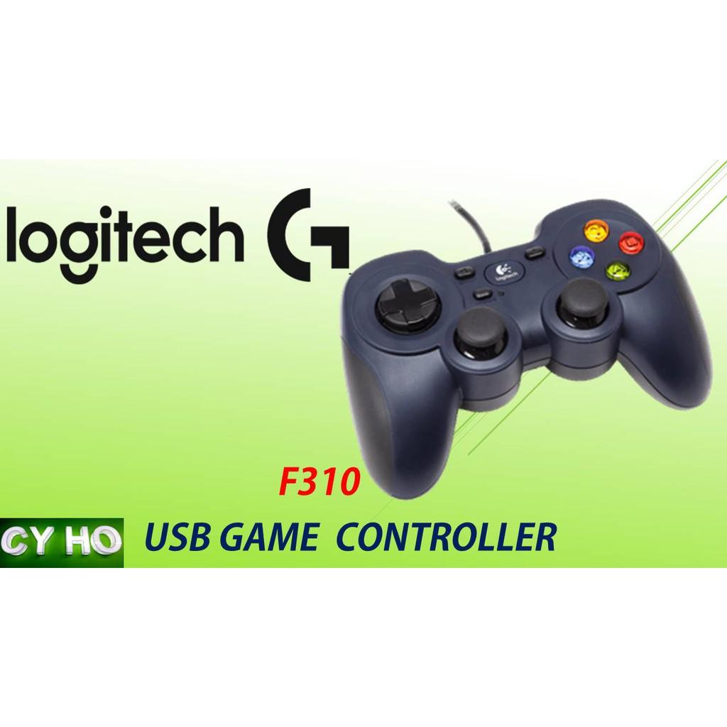 LOGITECH F310 WIRED USB GAMEPAD GAMING JOYSTICK CONTROLLER