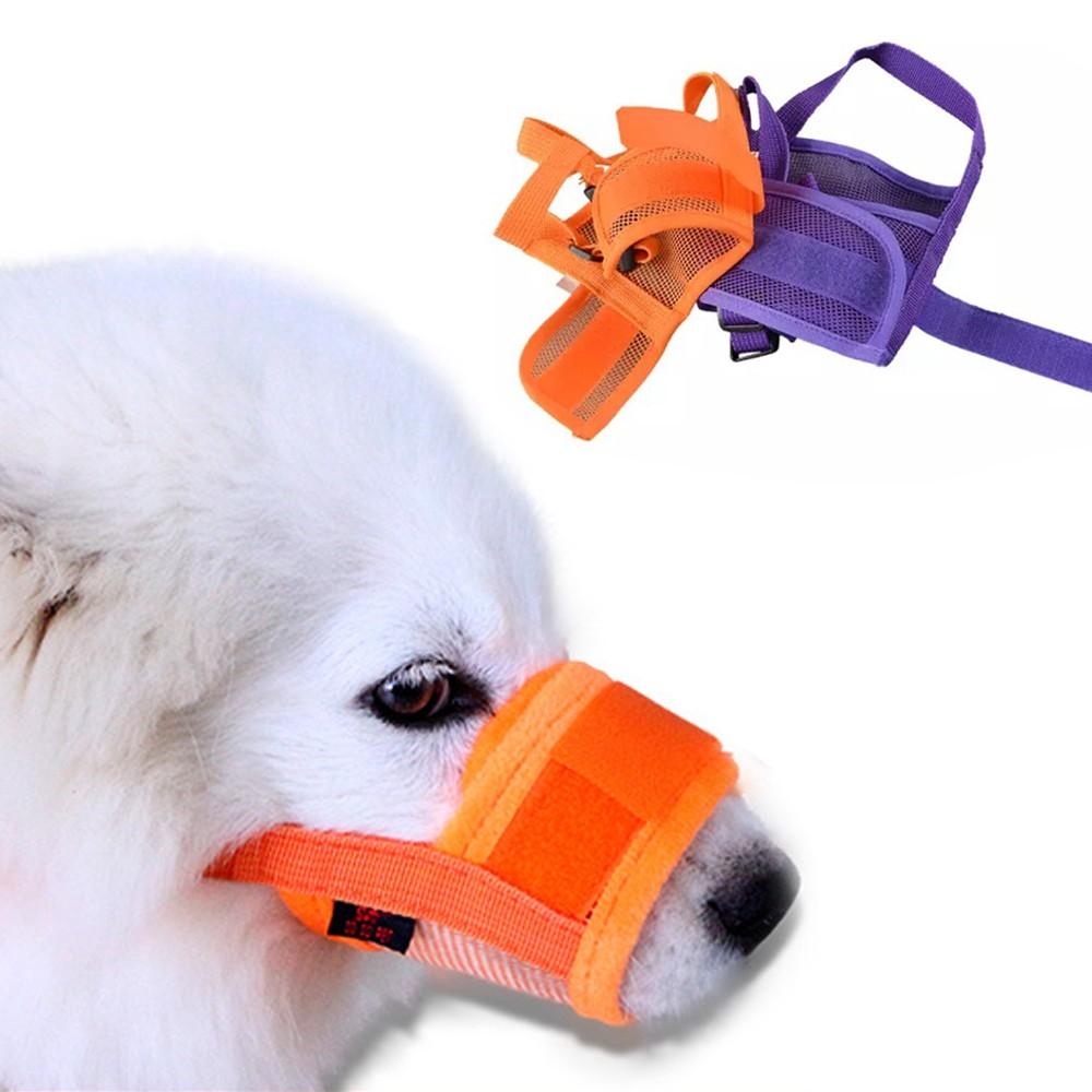 ตะกร้อครอบปากป้องกันการเห่าสำหรับสุนัข ที่ครอบปาก ตะกร้อครอบปาก *ส่งKerryฟรีรัดปาก กันเห่า ก