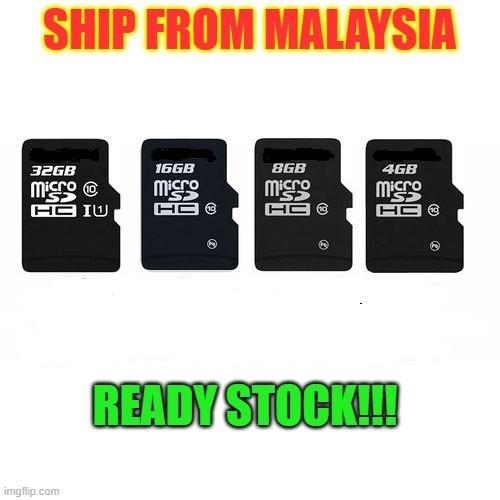 100% Original Micro SD Memory Cards Class10 16GB/32GB/64GB/128GB/256GB For Smartphone CANVAS (NO CARD ADAPTOR)