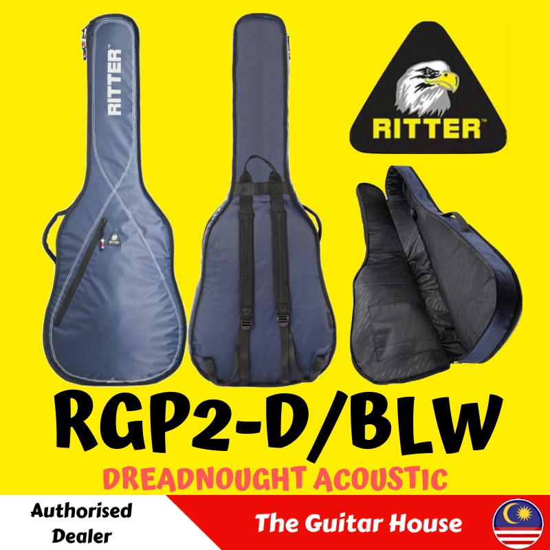 42006a28c2 Ritter Performance RGP5-D NBK Acoustic Dreadnought Guitar Bag, Navy/Black ( RGP5) | Shopee Malaysia