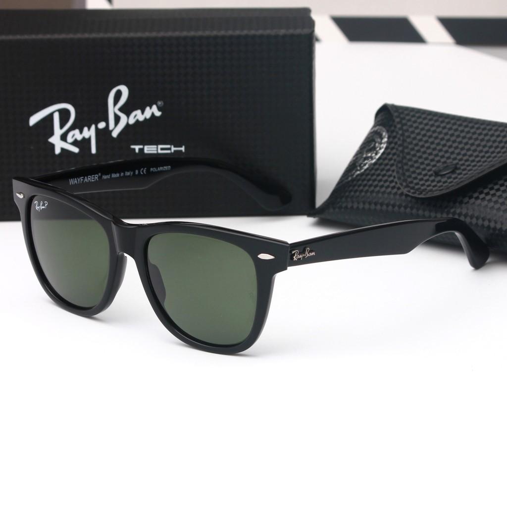 Ray Ban Wayfarer Black Black UV100% Protection RB2140 50 ae66f59552