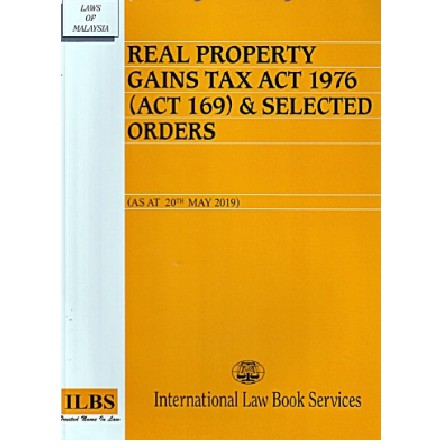 Real Property Gains Tax Act 1976 Act 169 Selected Orders As At 20 May 2019 Shopee Malaysia