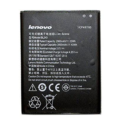 Lenovo Battery BL243 For Lenovo A7000 Plus K3 Note