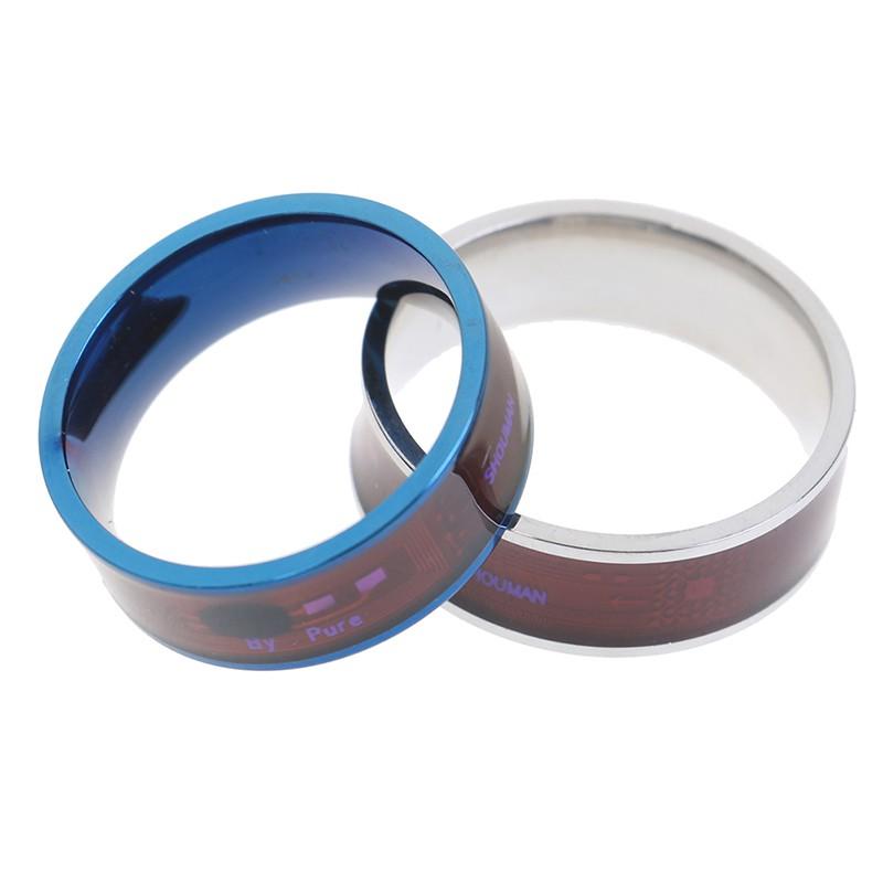 Suitable choice Men's Ring Magic Wear NFC Smart Ring Finger