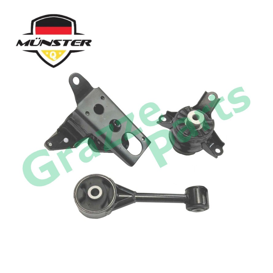 Münster PER7477 Engine Mounting Set for Perodua Myvi 1.0 1.3 Manual Transmission