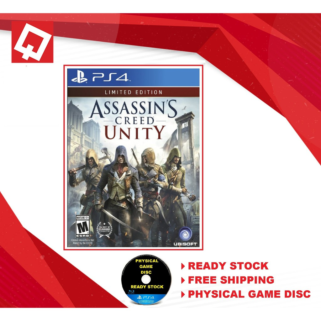 [NEW] PS4 Assassin's Creed Unity Limited Edition R-ALL [ENG]