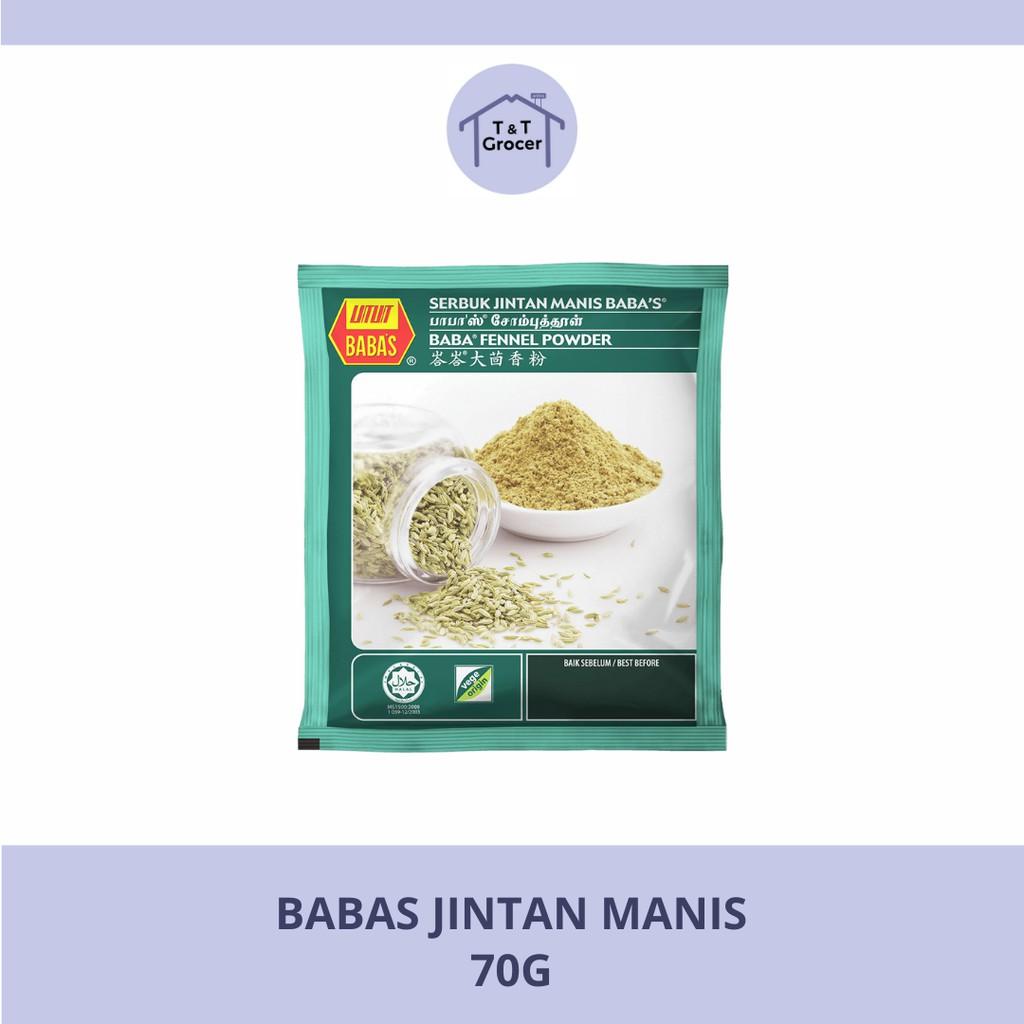 Babas Jintan Manis (70g)