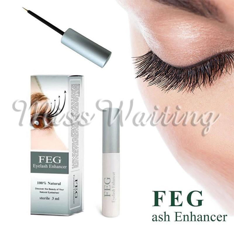 1821b05dbdb FEG FEG Eyelash Enhancer Eye Lash Rapid Growth Serum Liquid 100% Natural  3ml US