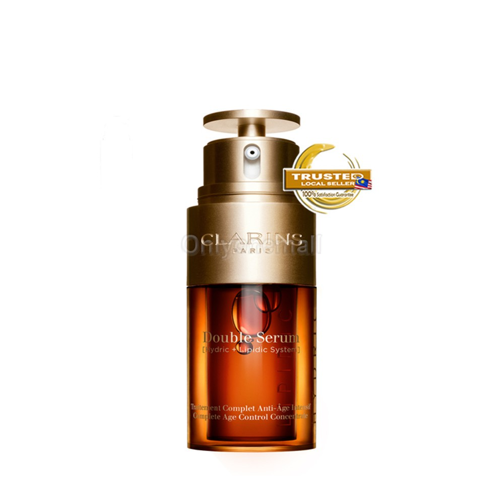 Clarins Double Serum 50ml (With Free Gift)